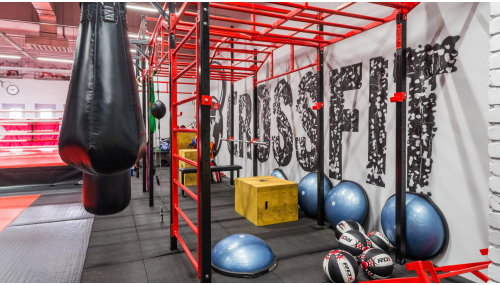 Gym VITYAZ FIGHT hall #1 in Moscow.