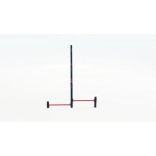 Triple cascade of horizontal bars with push-up bars