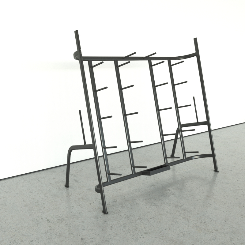 Rack for the bars