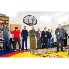 Борцовский ковер трехцветный 4 см.