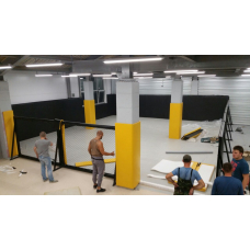 Barrier - MMA cage walls