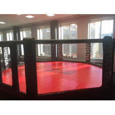 Professional MMA  Cage 8m in diameter on the podium height of 0.5 meters