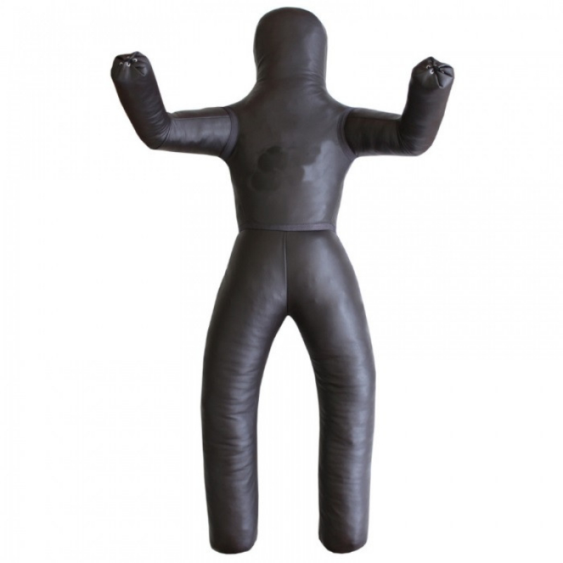 Wrestling leather mannequin for throw try-out 35 - 60 kg.