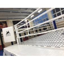 Рэйдж четырехугольный с боевой зоной 6 x 6 м., на подиуме 7.8 x 7.8 м.