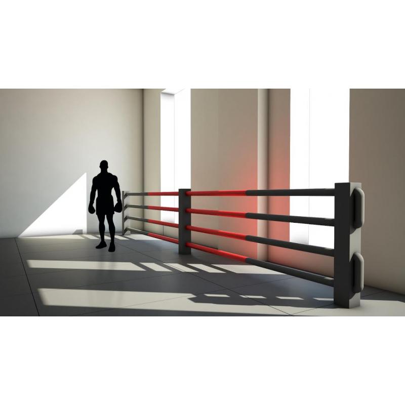 Ограждение, имитирующее ринг