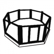 Cages on podium (13)